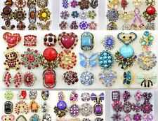 100 WHOLESALE LOT CHIC COCKTAIL COSTUME JEWELRY RINGS
