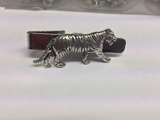 Tiger PP-A09 English Pewter Emblem on a Tie Clip 4cm long