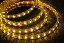 230V LED Strip Streifen Leiste Lichterkette 60/M Warmweiß 1M IP67 - 00193