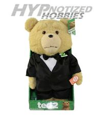 "TED 2  16"" TALKING & MOVING TED PLUSH W/ TUXEDO EXPLICIT VERSION 98575"