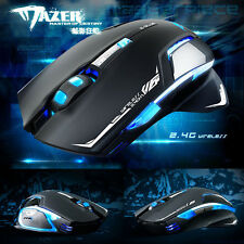 E-3lue 6D Mazer II 2500 DPI Blue LED 2.4GHz Wireless Optical Gaming Game Mouse