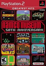 Namco Museum 50th Anniversary Playstation 2 PS2 14 Arcade Games New and Sealed