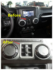 Window switch button cover trim 1pcs for Jeep Wrangler Rubicon 2007-2015