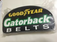 "Lot Of 100 GOODYEAR GATORBACK BELT racing decal/ sticker Size 8 1/2"" X 4"""