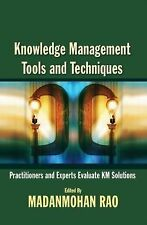Knowledge Management Tools and Techniques by Rao, Madanmohan