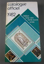 CATALOGUE OFFICIEL DE TIMBRES-POSTE 1982 , 27 EME ÉDITION