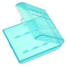 Pack De 4 Azul estuches de transporte para 4x Pilas Aa O Aaa
