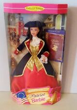 NEVER REMOVED FROM BOX AMERICAN STORIES 1997 PATRIOT  BARBIE DOLL