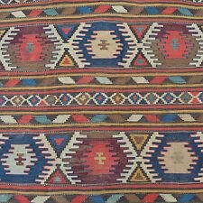 Antik Kaukasus Kelim Teppich Wolle gewebt 290x134 Kazak kilim rug tappeto tapis