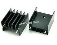 10pcs 25x23x16mm IC Electronic Aluminum Heat Sink Transistors for TDA7294/L298