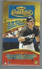 2001 TOPPS GOLD LABEL HOBBY BOX FACTORY SEALED
