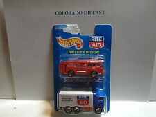 Hot Wheels 2 Pack Rite Aid Hiway Hauler & Red Fire Engine