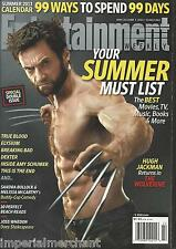 Entertainment Weekly magazine Wolverine Hugh Jackman Best summer movies TV music