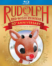 Rudolph the Red Nosed Reindeer (50th Anniversary) [Blu-ray] Dolby, Animated, Blu