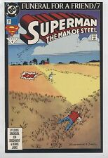 SUPERMAN THE MAN OF STEEL 21 - 2 COPIES ! - FUNERAL FOR A FRIEND Part 7 -