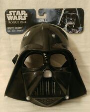 Collectable Halloween Star Wars Rouge One Darth Vader Child's Mask 5+ W