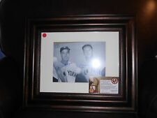 Mickey Mantle & Joe DiMaggio Autographed 8 X 10  Photo Certified By GFA