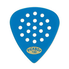 6 (SIX) PICKBOY Meta Carbonate Pos A Grip Guitar Picks Blue 1.00mm