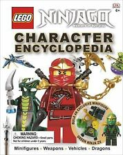Lego Ninjago Masters Of Spinjitzu Character Encyclopedia 2012, Hardcover Book