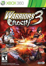 Warriors Orochi 3 XBOX 360 -NEW Game