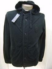 BIG PONY Polo Ralph Lauren Mens L Hoodie Sweatshirt Jacket Black Hooded Fleece