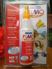 STAEDTLER FIMO LIQUID DECORATING CRAFT GEL OVEN BAKE POLYMER CLAY 50ml or 1.69oz