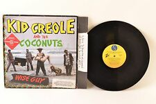 "Kid Creole And The Coconuts ‎– Wise Guy – 12"" Vinyl LP– SRK 3681"