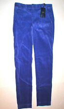 New NWT $145 Ralph Lauren Polo Golf Corduroy Pants Womens Purple 2 Work Office