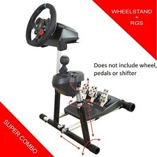 Wheel Stand Pro SuperG with RGS option for Logitech G29, G920, G27 and G25