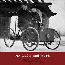 My Life and Work, Henry Ford Autobiography Business Guru Audiobook 1 MP3 CD