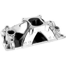 PC SBC Small Block CHEVY High Rise Polished Aluminum Intake Manifold 350 383