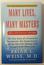 *New Hardcover* MANY LIVES, MANY MASTERS by Brian Weiss (20th Anniversary Ed.)