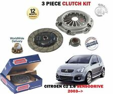 FOR CITROEN C2 1.6 109BHP TU5JP4 SENSODRIVE ENGINE 9/2003-  NEW CLUTCH KIT