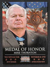 AMERICANA HEROES & LEGENDS Panini MILITARY ELITE COLOR PHOTO #8 MEDAL OF HONOR