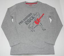 mini Boden rock guitar t-rex top t-shirt boys 9 10 yrs EXC