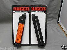 TWO Factory Ruger Magazine Mag Mark II MKII MK 2 10 Rounds .22LR 22 LR 90046