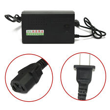 48V 14AH Lead Acid Battery Charger For Electric Bicycle Bike Scooters EU Plug