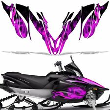 Yamaha APEX Decal Wrap Graphic Kit RTX GT MTX LTX Sled Snowmobile 12-16 ICE PINK