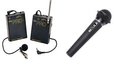 Pro WLM H wireless lavalier + handheld mic for Nikon D7100 D800 D600 D5200 D7000