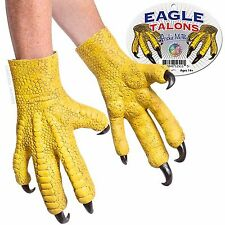 Bald Eagle Talons Deluxe Hand /Claw Latex Rubber Animal Costume