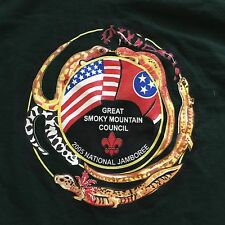 Vintage 2005 Boy Scout National Jamboree Great Smoky Salamander Shirt USA Made
