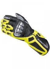Nuevo héroe Phantom 2 motocicleta guantes en negro amarillo flúor tamaño 10