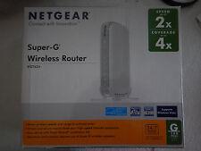 NetGear Super-G Wireless Router WGT624
