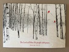 """Christmas Blessings"" Christian Christmas Card By DaySpring~6 3/4"" X 4 3/4"", NEW"
