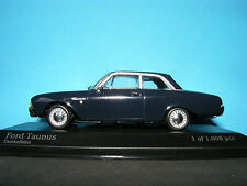 Ford Taunus 17M 1960 in Dunkel Blue Rare Minichamp  1:43 NLA