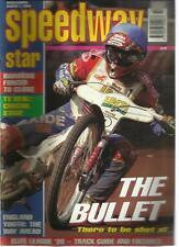 SPEEDWAY STAR MAGAZINE MAR 7 1998 TV DEAL THE BULLET ENGLAND YOUTH ELITE LEAGUE