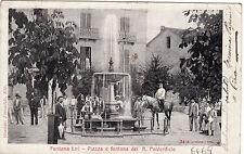 #FONTANA LIRI: PIAZZA E FONTANA DEL R. POLVERIFICIO
