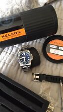 Helson Shark Diver 40 blue Automatic Watch Price Drop!