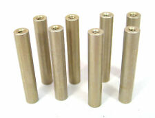 """Aluminum Round Spacers/Standoffs, 4/40 x 1-1/2"""" Long, 8/Lot: HH Smith 8329"""