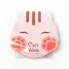 Tonymoly Cats Wink Clear Powder Pact 11g #2 Clear Beige Medium Beige